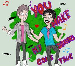 You make my dreams come trueeeeeeeeee by MaikaKoalaDraws