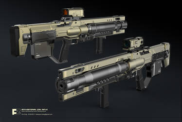 ANTI-MATERIAL COIL GUN by icedestroyer