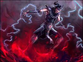Diablo III Wizard by Bradwhitlam