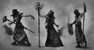 Cultists by Bradwhitlam