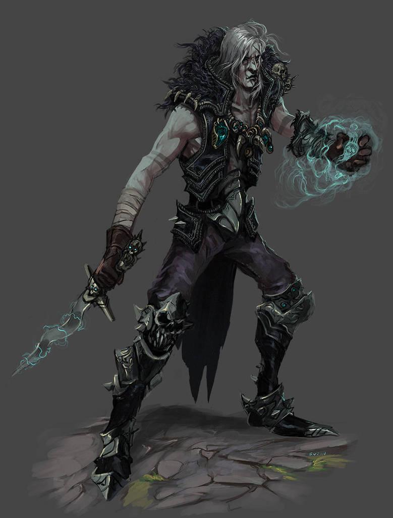 Diablo 2 Necromancer (heroes of the storm idea) by Bradwhitlam