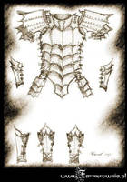 Dragon Armor sketch by farmerownia