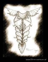 Forest Elven Armor by farmerownia