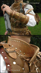 Thief Vest detail by farmerownia
