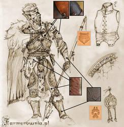 Wasteland Elf Armor by farmerownia