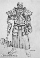 Sigmar Priest armor concept 2 by farmerownia