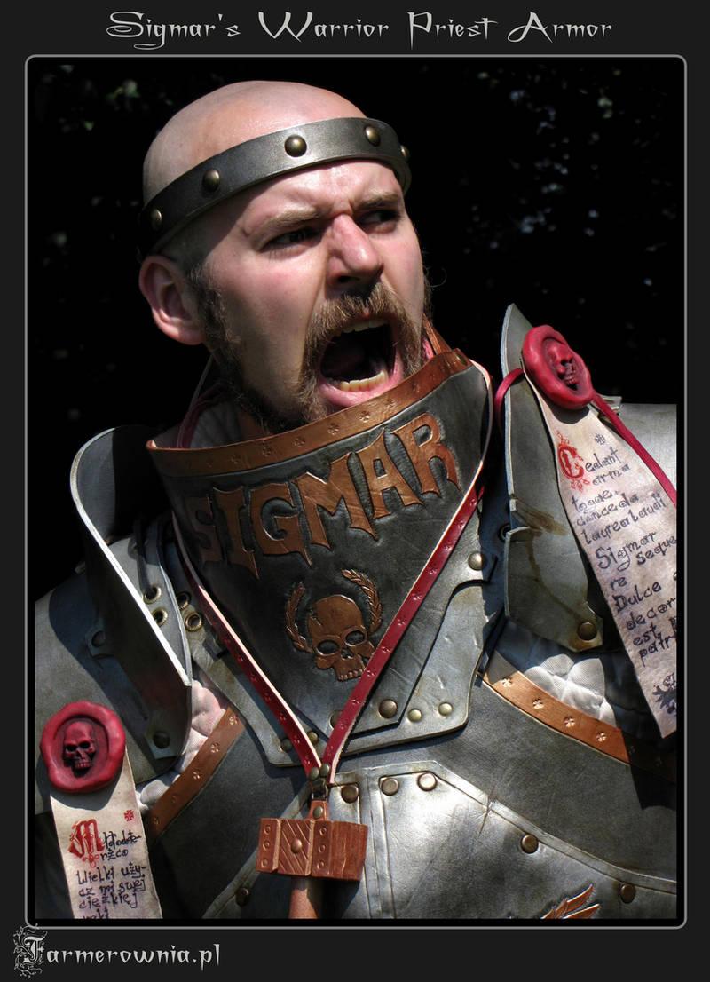 Sigmar Priest Armor portrait by farmerownia
