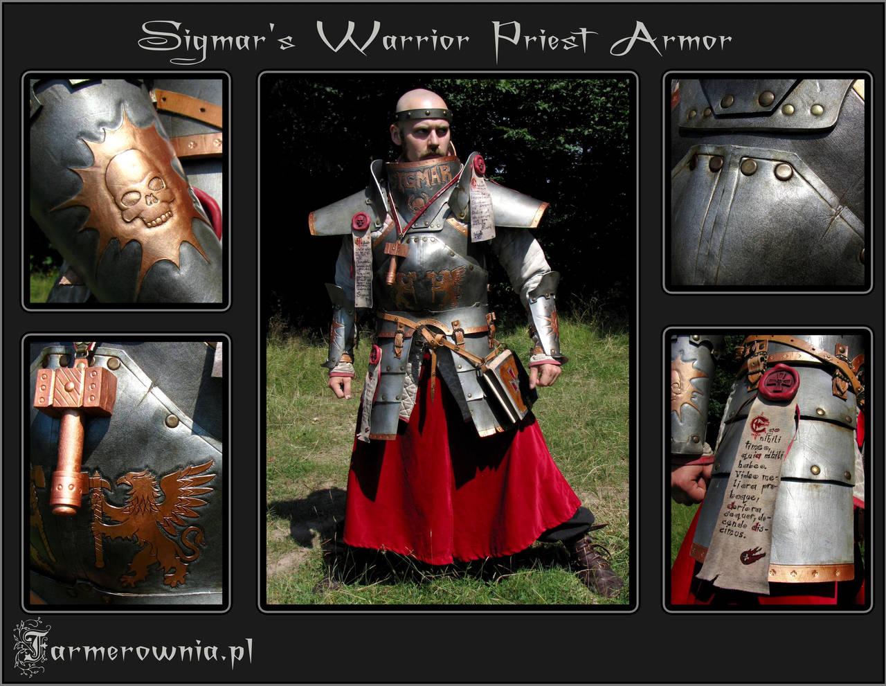 Sigmar Priest Armor full by farmerownia