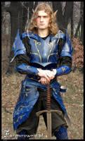 Blue Elven armor  01 by farmerownia