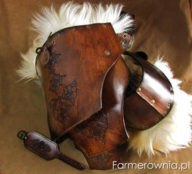 Warrior-King paulron set by farmerownia