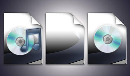 Hardware Cd Document Icons by HimandMe
