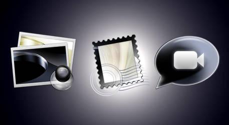 Application Icon Mono by HimandMe