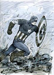 Captain America by giberwitz
