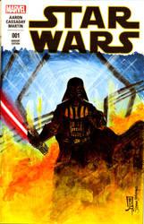 Star Wars 1 Vader by giberwitz