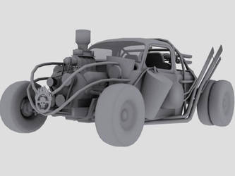 Mad Max Fury Road Silver Bug 1 By Badcop69 On Deviantart