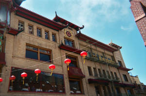 China Town Building by DigitalVampire107