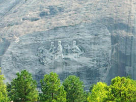 Stone Mountain by DigitalVampire107