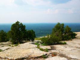 Top of Stone Mountain by DigitalVampire107