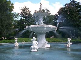 Forsyth Park - Fountain by DigitalVampire107