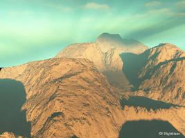 Sky Mountain by DigitalVampire107