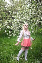 usagi pink by Lilian-hime