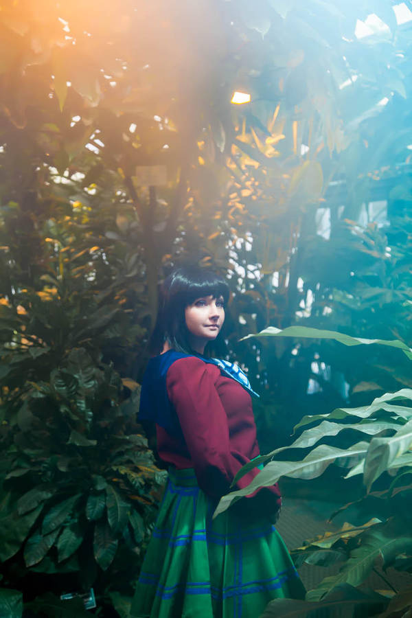 magic girl by Lilian-hime
