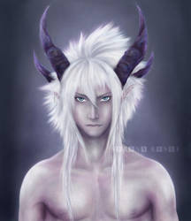 The Demonic Prince [OC Tsung] by xXSerena-CrosseXx