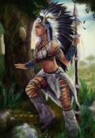 Princess of the Wilds [OC: Serena] by xXSerena-CrosseXx