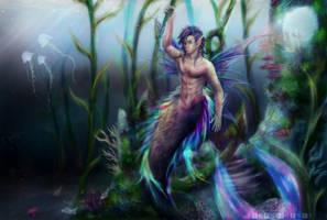 Rainbow of the Reef [OC: Rave] by xXSerena-CrosseXx