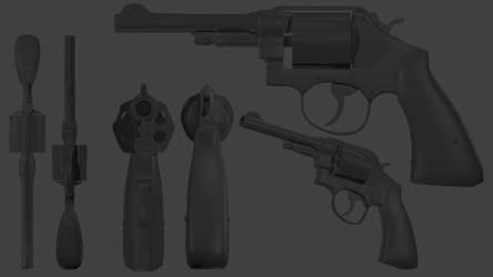 SW 1950 Revolver by Jagent-7