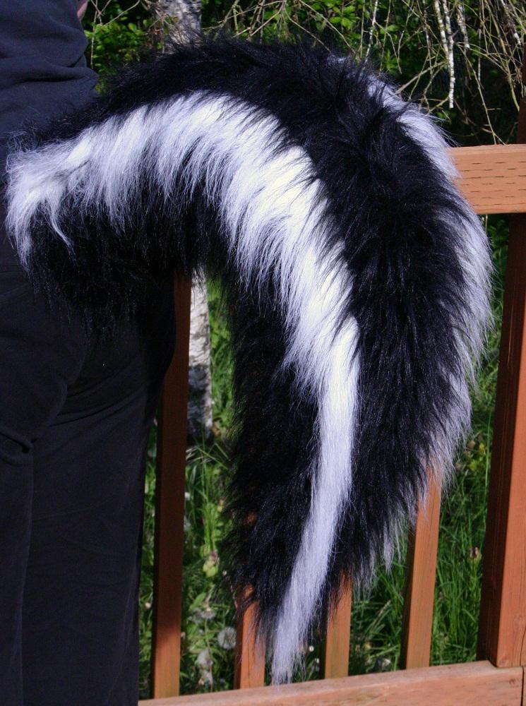 Skunk Tail 3 4 View By Fenrirschild On Deviantart