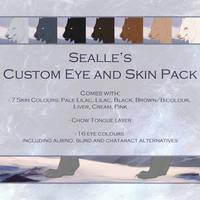 Sealle's Tokota Design: Normal Eye/Skin Pack by sealle