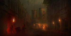 secret ruins by H-i-ll