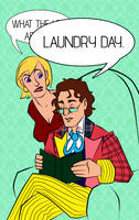Laundry day by konijnemans