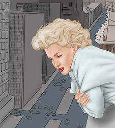 marilyn_monroe by The-life-in-me