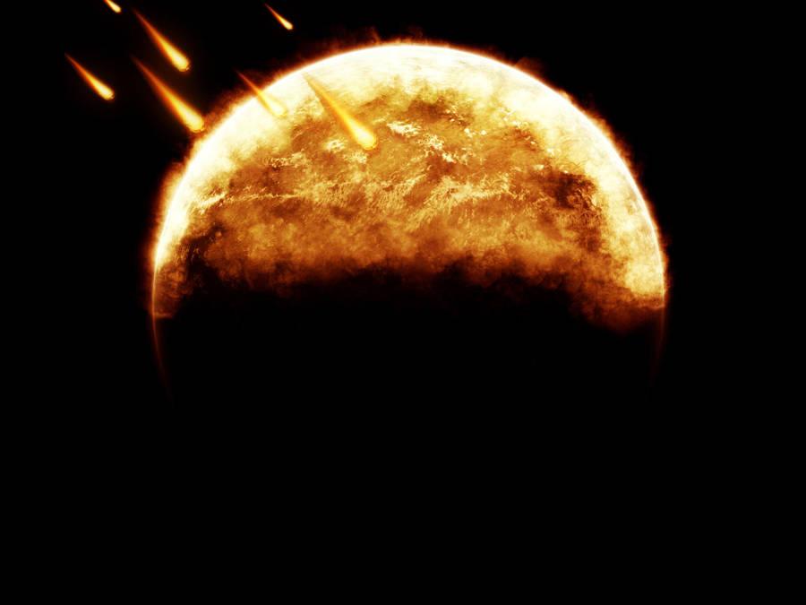 Fire Planet by Vreckovka