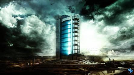 Futuristic Building by Vreckovka
