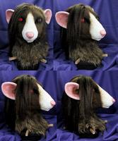 Rat head turnaround by FeralFacade