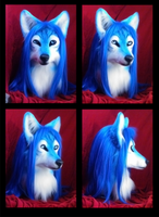 Suntattoowolf head by FeralFacade