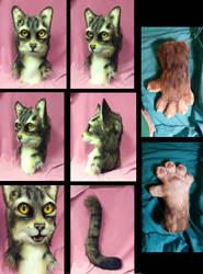 Tabby cat by FeralFacade