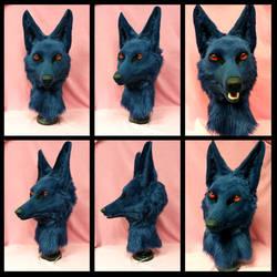 Blue Anubis Auction by FeralFacade