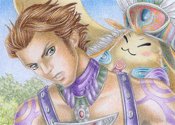 ACEO Reyn and Riki by Rooro22