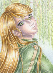 ACEO: Samus by Rooro22