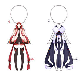 {Closed} Auction Outfit 238 - 239 by xMikuChuu