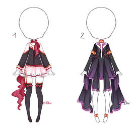 {2/2 Open} Auction Outfit 248 - 249 by xMikuChuu