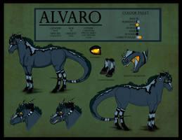 .Alvaro Reference. by xRedLily