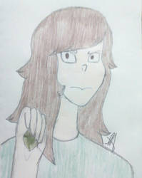 Me as an off color emerald by SajhHope