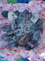 Bowl Of Stones by xcmer