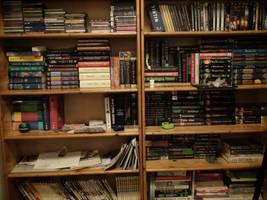 My Bookshelf by xcmer
