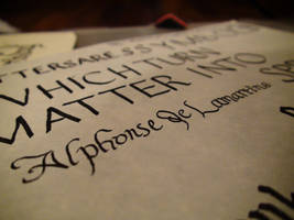 Letters are... by xcmer